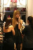 Mischa Barton  at H and M's 'Seasons Most Fashionable Gifts' Celebrity Shopping event. Hennes and Ma