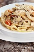 Delicious Chicken Linguine