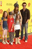 Kate Beckinsale with Len Wiseman and family  at the 11th Anniversary Of P.S. Arts 'Express Yourself