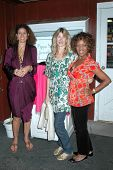 Pippa Small with Laura Dern and Alfre Woodard  at the Opening Party for the Pippa Small Jewellery St