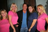 Ken Siporin with Kelley Kreidman, Christine Reed and Ashley King at an AMA Gifting Suite by ShoeDazzle.com, Gibson Guitars, Beverly Hills, CA 11-21-08