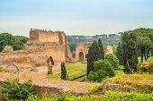 View At Caracalla Baths Ruins