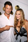Josh Duhamel and Molly Sims  at the 5th Annual Friends of El Faro Benefit to raise funds for the chi