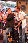 Bob Guiney and James Denton  at 'Band From TV' Presented by Netflix Live. The Autry National Center