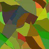 Abstract Fractured wall