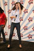 Selena Gomez  at a Mall Appearance to promote 'Ur Votes Count