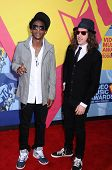 Shwayze and Cisco Adler  at the 2008 MTV Video Music Awards. Paramount Pictures Studios, Los Angeles, CA. 09-07-08