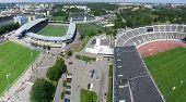 Helsinki sports center.