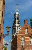 View Of Munttoren, A Tower In Amsterdam