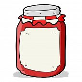 cartoon jar of preserve