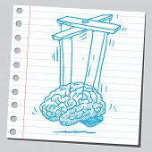 Brain puppet