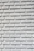 White brick wall - Vertical