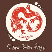 Dragon. Chinese Zodiac Sign