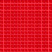 Red Pattern Tetrahedral Mosaic