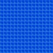 Blue Pattern Tetrahedral Mosaic