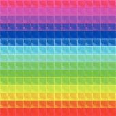 picture of tetrahedron  - seamless texture composed of tetrahedral mosaic of different colors with highlights - JPG