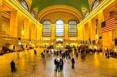 New York City- April 4: Interior of Grand Central Station on April 4, 2014 in New York City, NY. The