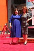 LOS ANGELES - JUL 2:  Melissa McCarthy, Susan Sarandon at the Melissa McCarthy Hand and Footprint Ce