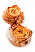 Cake in the shape of a rose