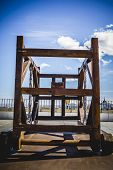 stock photo of parador  - Medieval siege weapons - JPG