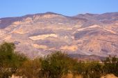Panamint Valley mountain range