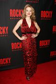 NEW YORK-MAR 13: Actress Jennifer Mudge attends the 'Rocky' Broadway opening night after party at Ro