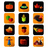 Thanksgiving Icons