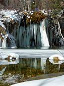 Hanging Lake Winter Reflection