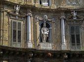 Quattro Canti in Palermo four corners