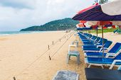 PHUKET - JUNE 7 :  Tourists spend their  holiday on JUNE 7, 2014 in Phuket, Thailand. Phuket is a po