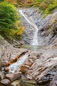 fall waterfall at Seoraksan National Park, South korea