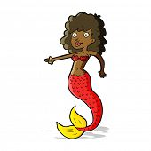 cartoon mermaid