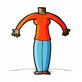 cartoon body (mix and match cartoons or add own photos)