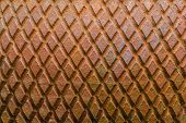 image of trapezoid  - Close up shot texture of trapezoid form