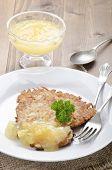 Potato Pancake With Bramley Apple Sauce