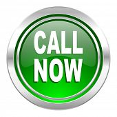 call now icon, green button