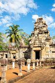 Sdok Kok Thom Castle, Cambodia Khmer style temple in Thailand