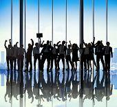 Success Team Teamwork Togetherness Business Coworker Occupation Concept