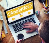 Analytics Business Technology Analyzing Data Information Office Concept