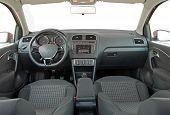 Grey car interior