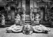Snake God Naga In Hindu Temple