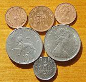 British new penny.