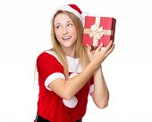 foto of guess  - Xmas girl guesses what - JPG