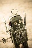 robot concept  surender