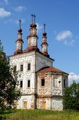 Ancient Orthodox Church In Totma, North Russia