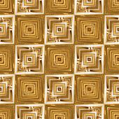 Golden Wheat Straw Seamless Kaleidoscope