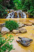 Surroundings Yang Bay Waterfall In Vietnam