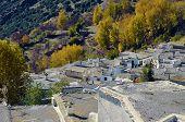 Busquistar town in the Alpujarra, Granada, Spain