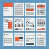 Business Documents And Company Papers Template