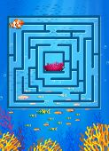 picture of game-fish  - Maze game with underwater theme - JPG